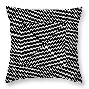 Illusion Exemplified Throw Pillow