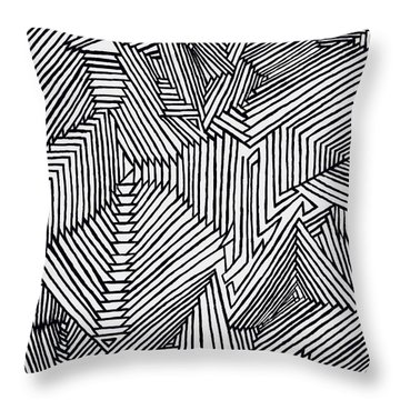 Illusions New Throw Pillow