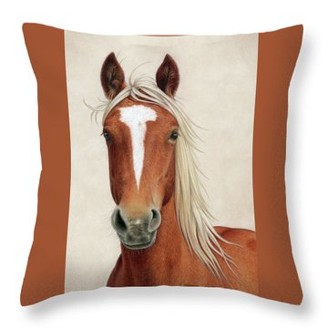 Illya Throw Pillow
