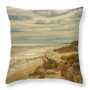 Iluka, Western Australia Throw Pillow