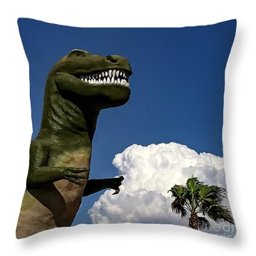 I'm A Nervous Rex Throw Pillow