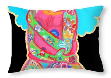 Im A Work Of Art Throw Pillow by Diamin Nicole