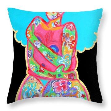 Im A Work Of Art Throw Pillow