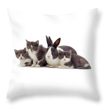 I'm Bun Of The Family Throw Pillow