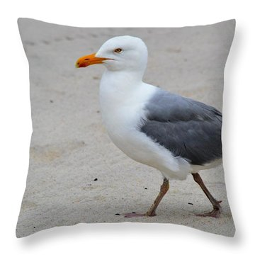 I'm Coming Throw Pillow