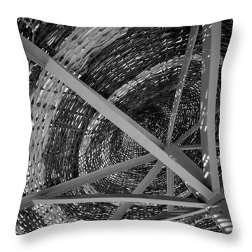 Throw Pillow featuring the photograph I'm Covered by Jez C Self