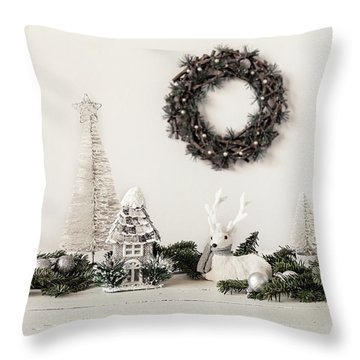 Throw Pillow featuring the photograph I'm Dreaming by Kim Hojnacki