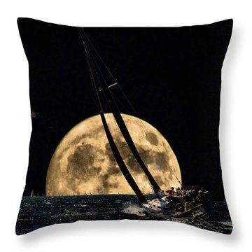 I'm Getting Closer To My Home Throw Pillow