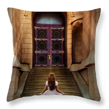 I'm Going There Some Day Throw Pillow