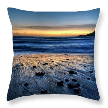 Throw Pillow featuring the photograph I'm Grateful You Joined by Peter Thoeny