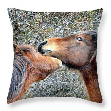 I'm The Boss Says Patricia Irene To April Star Throw Pillow