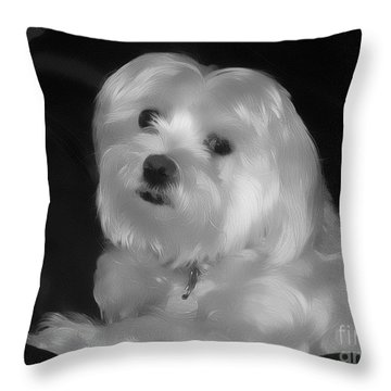 I'm The One For You Throw Pillow