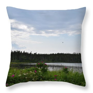 Images From Maine 2 Throw Pillow