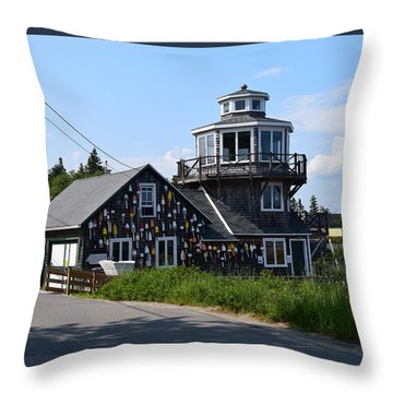 Images Of Maine 4 Throw Pillow