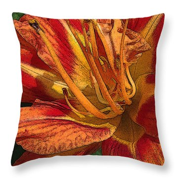 Images On The Mind Throw Pillow