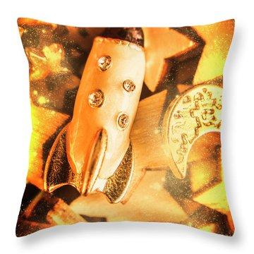Imaginary Adventure Throw Pillow