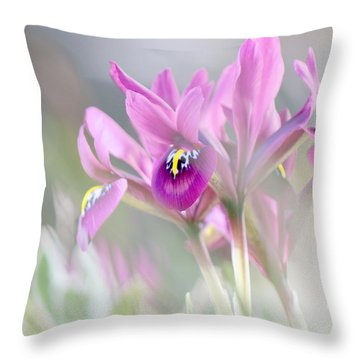 Imaginary Spring Time Throw Pillow