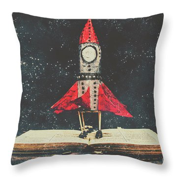 Imagination Is A Space Of Learning Fun Throw Pillow