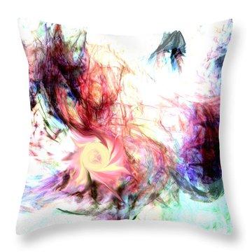 Imagination Throw Pillow by Linda Sannuti