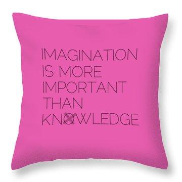 Imagination Throw Pillow by Melanie Viola