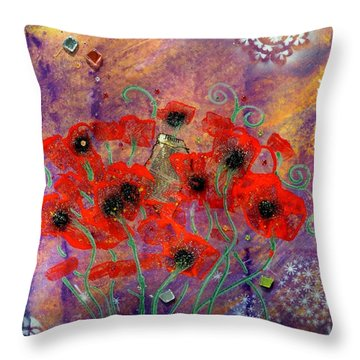 Imagine By Mimi Stirn Throw Pillow