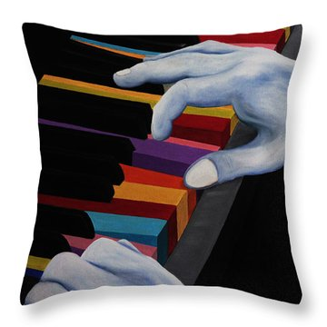 Imagine Throw Pillow by John Stuart Webbstock