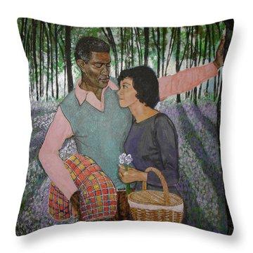 Imagine Love  Throw Pillow