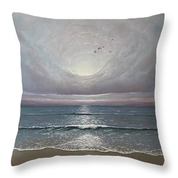 Imagine Throw Pillow by Paul Newcastle