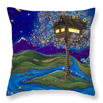 Imagine Throw Pillow by Tanielle Childers