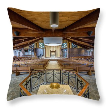 Throw Pillow featuring the photograph Immaculate Conception 2848 by Everet Regal
