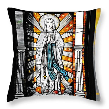Immaculate Conception San Diego Throw Pillow