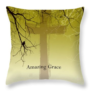 Immanuel- My Saviour Throw Pillow by Trilby Cole