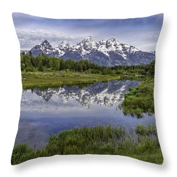 Throw Pillow featuring the photograph Immense Beauty  by Bitter Buffalo Photography