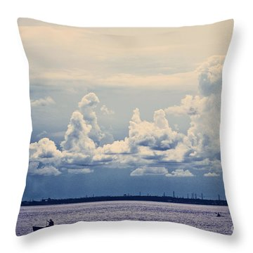 Immensite Throw Pillow by Aimelle