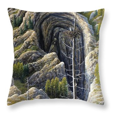 Immensity Throw Pillow