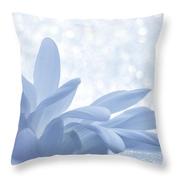 Throw Pillow featuring the digital art Immobility - Wh01t2c2 by Variance Collections