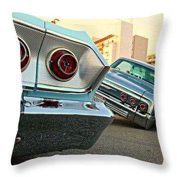 Impala Low-riders Throw Pillow