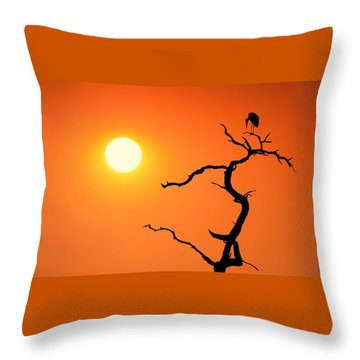 Impalila Island Sunset No. 2 Throw Pillow