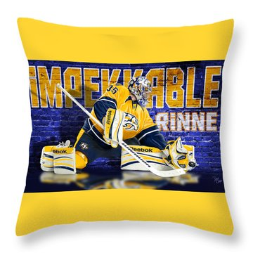 Throw Pillow featuring the photograph Impekkable by Don Olea