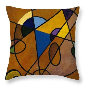 Imperfect Universe Throw Pillow