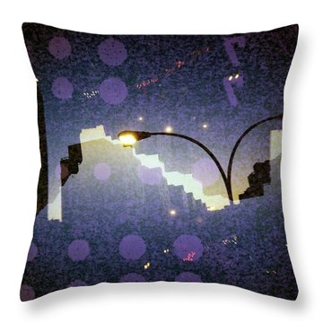 Imperfections IIi Throw Pillow