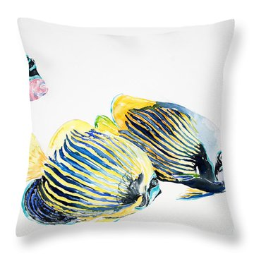 Imperial Angels Throw Pillow by Tanya L Haynes - Printscapes