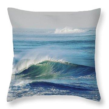 Imperial Beach Square Throw Pillow