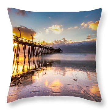 Imperial Burst Throw Pillow by Ryan Weddle