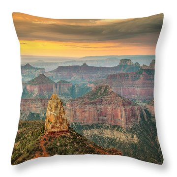 Imperial Point Grand Canyon Throw Pillow