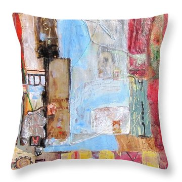 Imperialism Throw Pillow