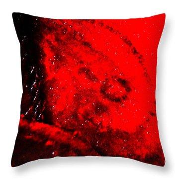 Implosion Throw Pillow by Eva Maria Nova