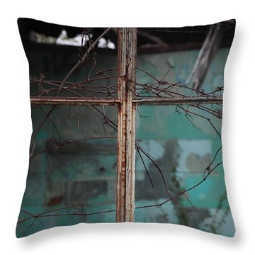 Imposition Throw Pillow by Amanda Barcon