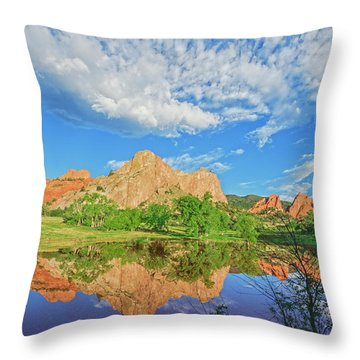Impossible Not To Fall In Love With Colorado. Here's Why.  Throw Pillow