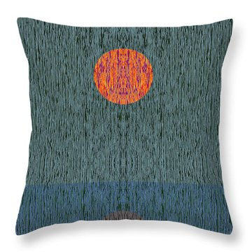 Impression 1 Throw Pillow